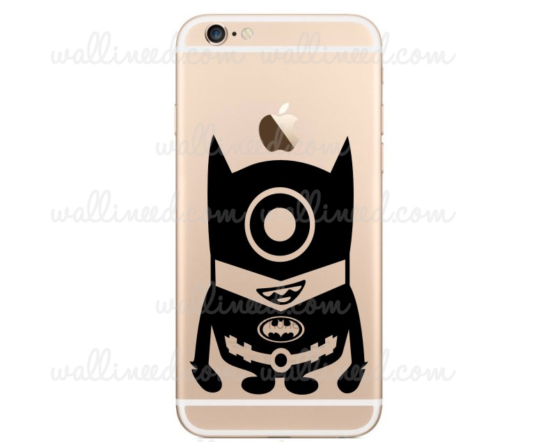 Minion batman iphone sticker iphone 6 stickers